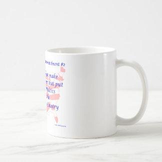 Mandamiento Democratic individual #2 Tazas De Café