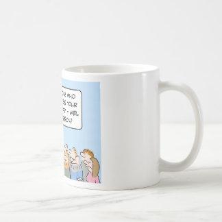 mandamientos de gibson Moses de los melios Tazas De Café