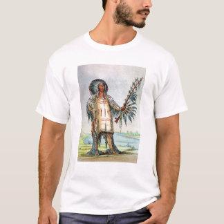 Mandan Indian Ha-Na-Tah-Muah, Wolf chief T-Shirt