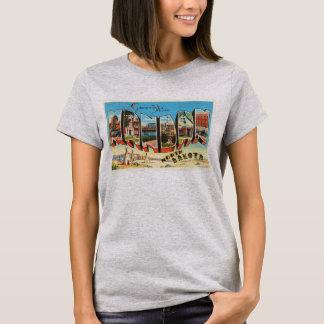 Mandan North Dakota ND Old Vintage Travel Souvenir T-Shirt