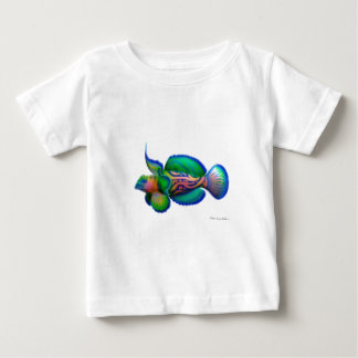 Mandarin Dragonet Fish Baby T-Shirt