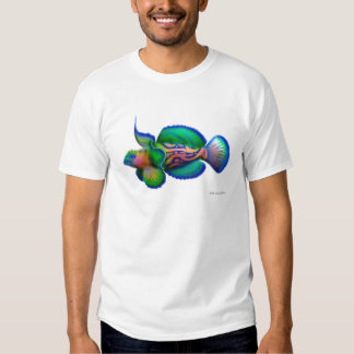 Mandarin Dragonet Fish T-Shirt