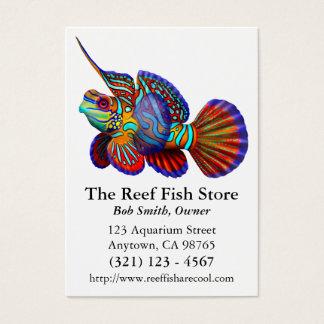 Mandarin Dragonet Goby Fish Business Card