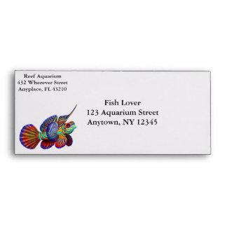 Mandarin Dragonet Goby Fish Customizable Envelope