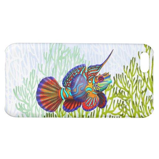 Mandarin Dragonet Goby Fish iPhone Case iPhone 5C Cases