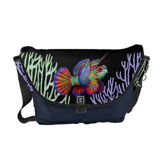 Mandarin Dragonet Goby Fish Rickshaw Messenger Bag