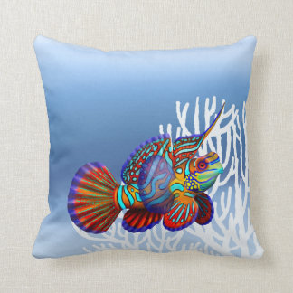 Mandarin Dragonet Goby Reef Fish Pillows