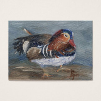 Mandarin Duck Art Card