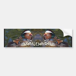 Mandarin Duck Bumper Sticker
