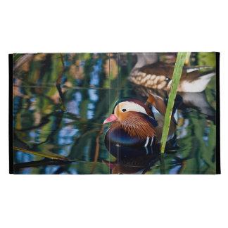 Mandarin Duck iPad Folio Cover