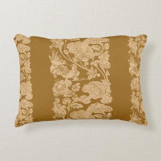 mandarin duck golden age decorative pillow