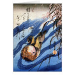 Mandarin Duck, Hiroshige Cards