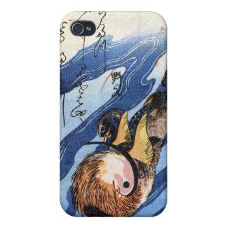 Mandarin Duck, Hiroshige Cover For iPhone 4