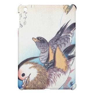 Mandarin Duck Japanese Print Cover For The iPad Mini