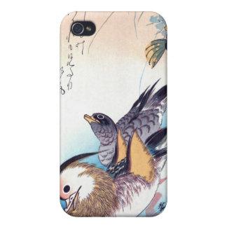 Mandarin Duck Japanese Print Cases For iPhone 4