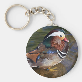 mandarin duck keychain