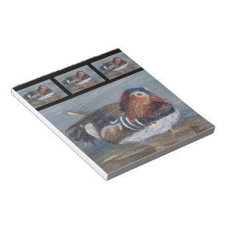 Mandarin Duck Notepad
