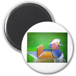 mandarin duck painting mugs, iPhone cases, Magnet