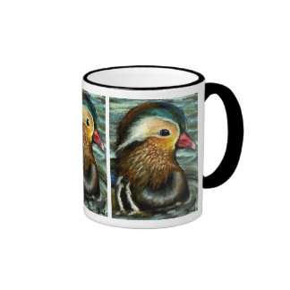 Mandarin Duck Ringer Mug
