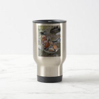 Mandarin Duck Trio Coffee Mugs