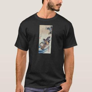 Mandarin Duck Woodcut T-Shirt