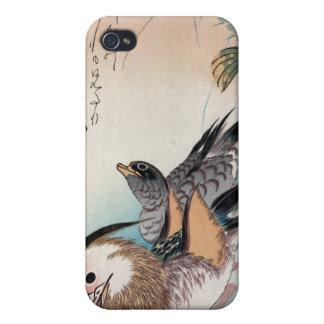 Mandarin Ducks,  Ando Hiroshige iPhone 4/4S Cover