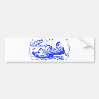 Mandarin Ducks Bumper Sticker