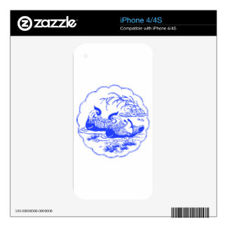 Mandarin Ducks Decal For iPhone 4