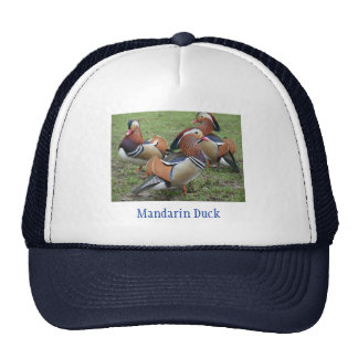 Mandarin Ducks Designed Hat