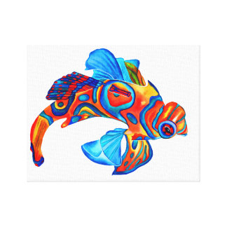 Mandarin Fish canvas print