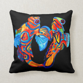 Mandarin fish design decorative cushion pillow