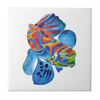 Mandarin Fish design decorative tile