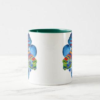 Mandarin Fish design mug