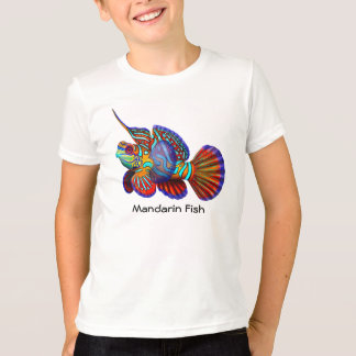 Mandarin Goby Dragonet Fish Kids T-Shirt