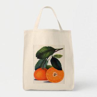 Mandarin Orange Tote Bag