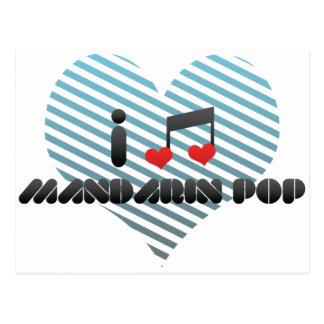 Mandarin Pop Postcard
