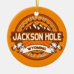 Mandarina de Jackson Hole Ornamento Para Arbol De Navidad