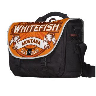 Mandarina del pescado blanco bolsas de portátil