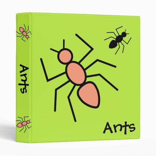 """Mandarina y hormigas negras del vector (fondo verd carpeta 1"""""""