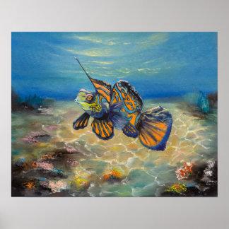 Mandarinfish Poster