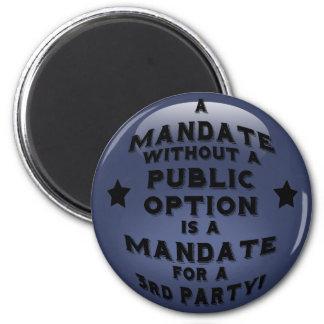 Mandate 2 Inch Round Magnet