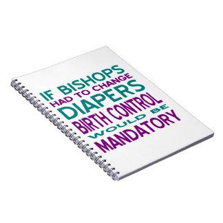 Mandatory Birth Control 2 Spiral Notebook