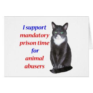 Mandatory Prison Time Greeting Card