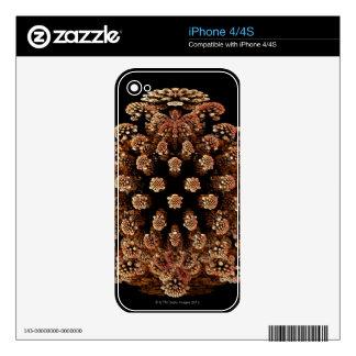 Mandel Fractel iPhone 4 Decals