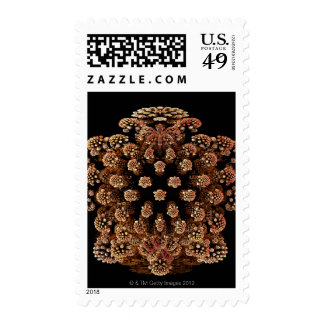 Mandel Fractel Postage Stamp