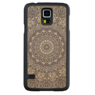 Mandela Blues Carved® Maple Galaxy S5 Slim Case