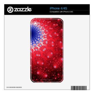 Mandelbrot 4 iPhone 4S decal