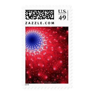 Mandelbrot 4 postage stamp