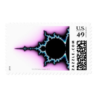 Mandelbrot 5 postage stamp