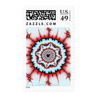 Mandelbrot 8 postage stamps